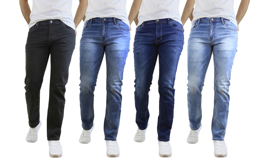 Mens Stretch Jeans and the Features